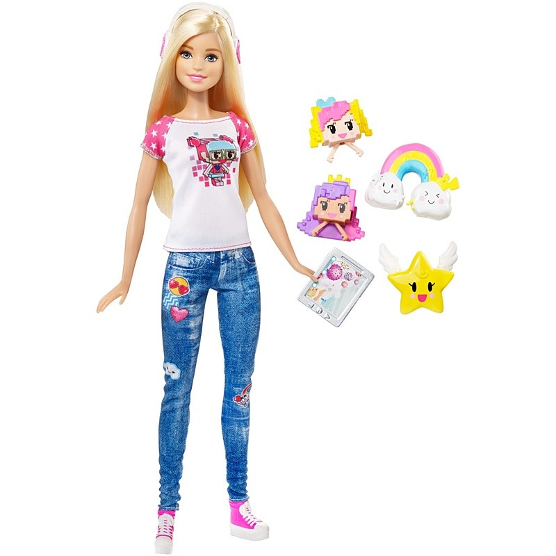 Кукла Barbie Виртуальный мир - Барби-геймер barbie кукла геймер из серии barbie и виртуальный мир