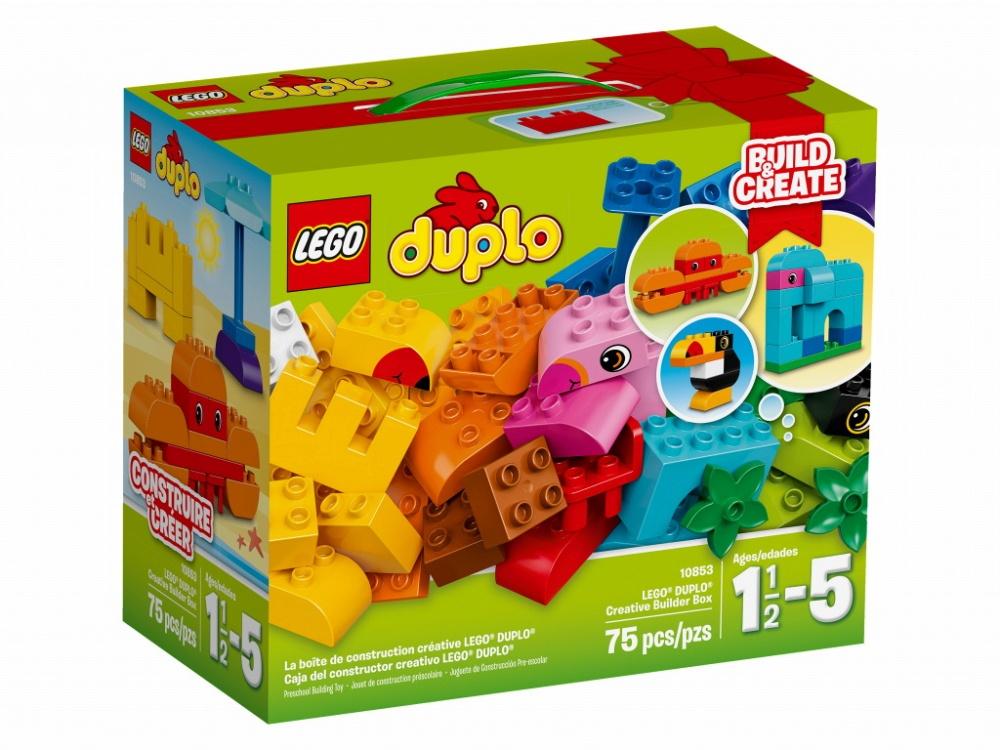 Конструктор Lego Duplo My First 10853 Набор деталей для творческого конструирования lego lego duplo набор деталей для творческого конструирования