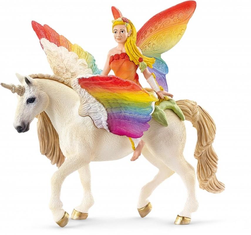 ИлаяВолшебная игрушка Илая понравится девочке дошкольного возраста. Фигурка выполнена очень тщательно, прочный материал долговечен и надежен. Единорог с крыльями и роскошными гривой и хвостом несет на спине прекрасную девушку. У нее за спиной радужные крылья бабочки. Эта игрушка понравится даже взрослым, а ребенку поможет развить фантазию, мелкую моторику, усилит творческие способности, стимулирует формирование памяти, логики и других важнейших умений.Удобные условия заказаМагазин Hamleys гарантирует замечательные условия покупки. Быстрая курьерская доставка, качественные товары и привлекательные цены вызывают множество положительных отзывов. Выбирать товар на сайте удобно благодаря представленной подробной информации и фотографиям.Соотношение цены и качества игрушек приятно поразят покупателя, который придет в магазин Hamleys. Немаловажными являются условия доставки. Заказать изделие можно из любой точки России, и оплатить его наложенным платежом. Для жителей Москвы, Санкт-Петербурга и Московской области действует быстрая курьерская доставка, товар оплачивается наличными или банковской картой.<br>