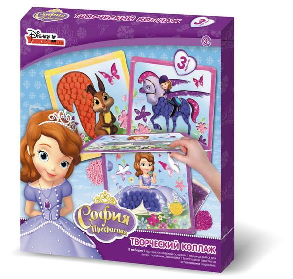 Чудо творчество. Disney™ Творческий коллаж SophiaСоздай свой неповторимый коллаж по мотивам мульфильма Sofia от Disney<br>