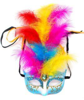 Маска карнавальная РиоМаска - прекрасное дополнение к карнавальному костюму. Маска поможет создать яркий и неповторимый образ.<br>
