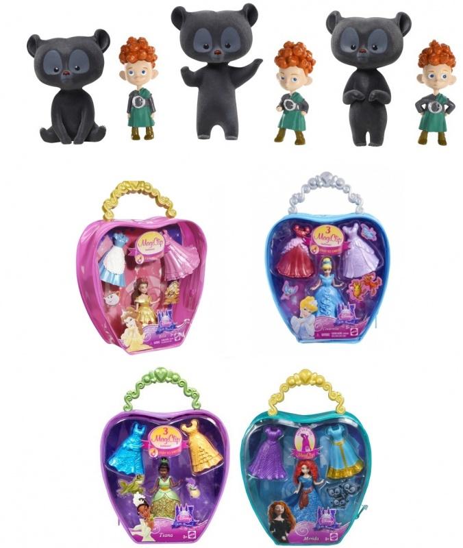 Набор подарочный с фигурками-трансформерами Mattel Disney Princess Храбрая сердцем mattel храбрая сердцем с фигурками трансформерами принцессы disney