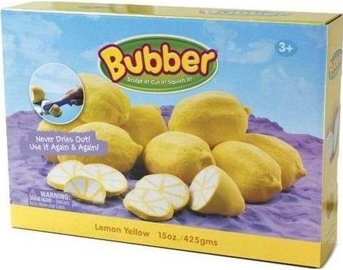 Масса для лепки Waba Fun Bubber, желтая, 1200 гр. песочница надувная waba fun