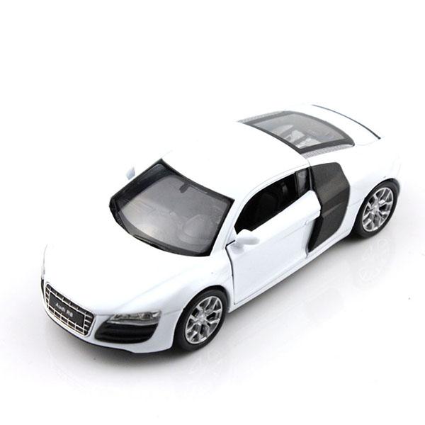 Игрушка модель машины 1:34-39 Audi R8 welly модель автомобиля audi r8 v10 цвет красный
