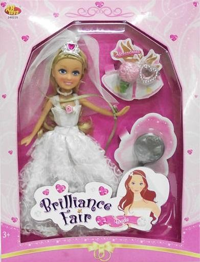 Кукла Funville Brilliance Fair Невеста funville кукла дождливый день