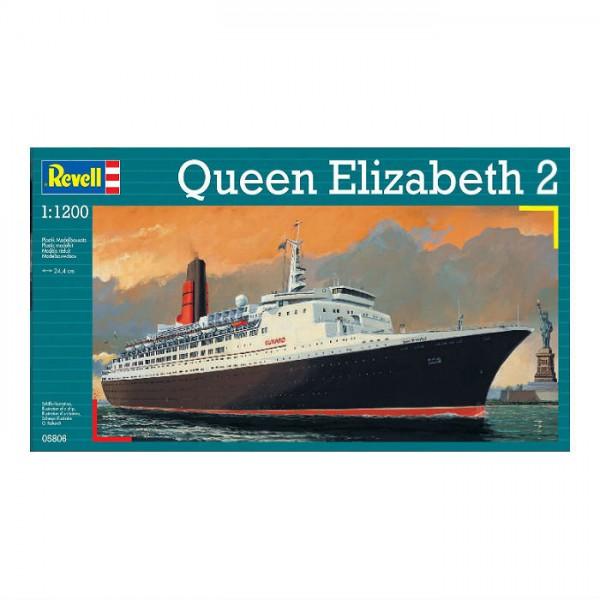 Модель парохода Revell QUEEN ELIZABETH IIСборная модель Revell Queen Elizabeth II представляет собой точную копию настоящего парохода. Состоит из 36 деталей, которые юный механик должен собрать сам.Во время игры с таким судном у ребенка развивается мелкая моторика рук, фантазия и воображение.Круизный лайнер 1969 года выпущен известной компанией по производству игрушек Revell. Изготовлен из пластика и обладает потрясающей детализацией. Сборная модель Revell Queen Elizabeth II является отличным подарком не только ребенку, но и коллекционеруКоличество деталей: 36Длина модели: 244 ммУровень сложности: 3<br>