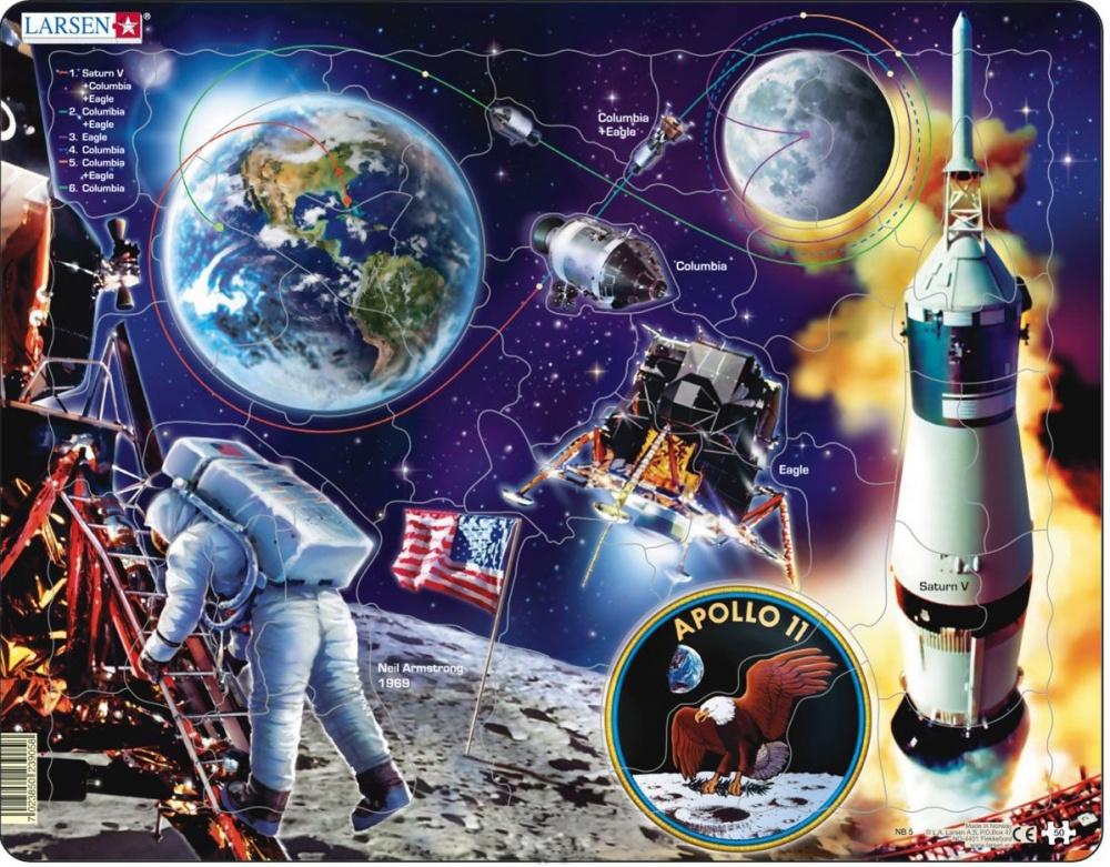 Пазл Larsen Аполло 11 аполло сырорезка apollo aura