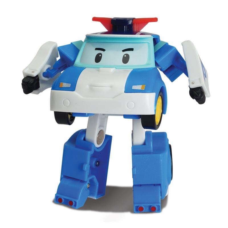 Трансформер Робокар Поли - Поли, 7.5 смИгрушка «Трансформер «Робокар Поли» от компании Silverlit создана по образу и подобию реально существующего персонажа одного из популярных мультипликационных сериалов. Полицейская машинка с мигалкой, расположенной на крыше, бело-голубого цвета — это миниатюрный герой, который сможет защитить ваш фантазийный город и помочь всем его жителям. Машинка изготовлена из пластика, все составные части надежно скреплены друг с другом, а подвижные элементы позволяют машинке Поли трансформироваться робота за считанные секунды.от 3 летДля мальчиков и девочекРазмер игрушки: 7.5 см.Цвет: белый, синий.Материалы: пластик.Размер коробки (длн-шрн-вст): 11 х 8 х 14 см.<br>