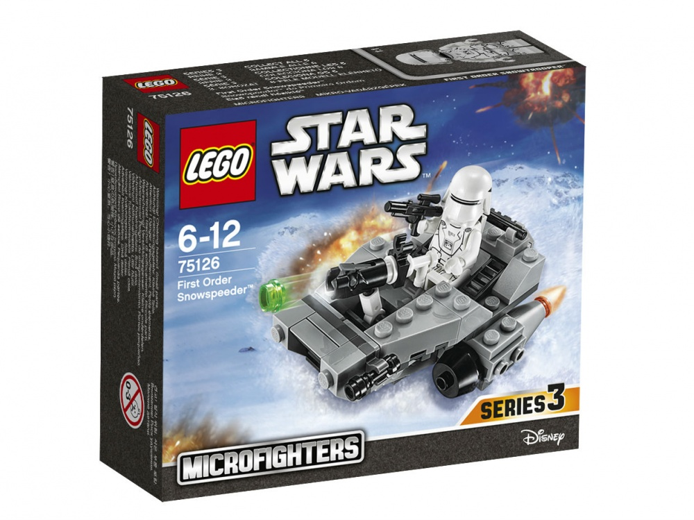 Конструктор Lego Star Wars 75126 Снежный спидер Первого Ордена lego lego star wars снежный спидер первого ордена