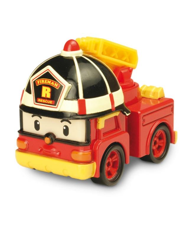 Металлическая машинка Робокар Поли - Рой, 6 смПожарная машинка по имени Рой всегда на страже порядка и готова защитить город от неминуемой опасности в виде возгораний. Он очень ответственный и самоотверженный, поэтому жители могут быть спокойны за свою безопасность!Металлическая игрушка выполнена из высококачественного материала и не влияет на здоровье малышей. Детям обязательно понравится играть с такой замечательной, яркой и красивой машинкой. Из нее выйдет прекрасный подарок для малышей, которые любят играть в машинки и разыгрывать события в придуманном городе.от 3 летГерой: Робокар Поли и его друзья / Robocar PoliДля мальчиковЦвет: красный.Материалы: металл.Размер упаковки: 15 x 5 х 17 см.Размер игрушки: 6 см.<br>