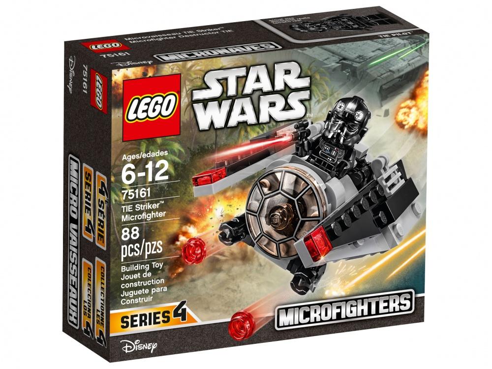 Конструктор Lego Star Wars Микроистребитель-штурмовик TIEСдерживай силы Повстанцев при помощи невероятного микроистребителя-штурмовика TIE. Сложи его крылья, заряди оружие, посади пилота в кабину и будь готов отбить атаку врага!<br>