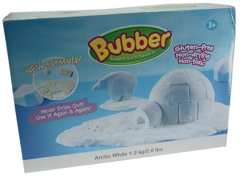 Масса для лепки Waba Fun Bubber, 1200 гр, белая песочница надувная waba fun