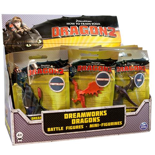Игрушка Dragons Фигурки драконов (в мягкой упаковке)