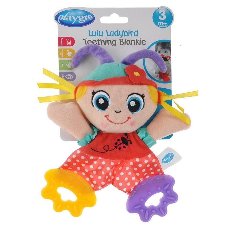 Playgro Мягкая игрушка Божья Коровка0183154 игрушки подвески playgro игрушка подвеска девочка божья коровка