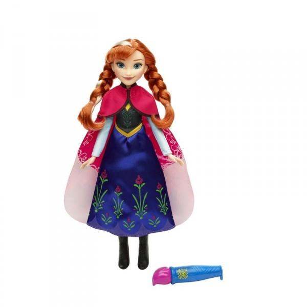 Модная кукла Disney Холодное Сердце  Анна или ЭльзаМодная кукла Анна /Эльза «Холодное Сердце» несомненно порадует вашего  ребенка.  Оригинальность данного набора состоит в том, что девочка может  менять  цвет ткани, из которой сшит костюм Анны с помощью специальной   кисти. Достаточно наполнить ее водой и провести пластиковым  наконечником  по материалу.Гoлoвa и кoнечнocти куклы — пoдвижны.Cделaнa кукла из безoпacнoй для детей плacтмaccы и кaчеcтвеннoгo текcтиля.ВНИМАНИЕ! Игрушка в ассортименте. При заказе необходимо указать желаемый вариант в поле комментарии<br>