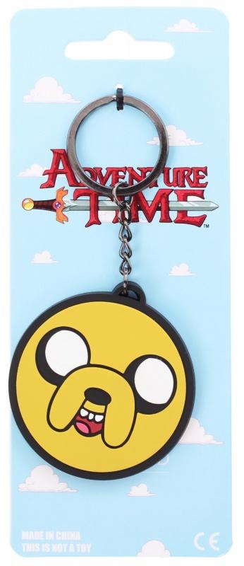 Брелок Bioworld Adventure Time - Jake faceБрелок Adventure Time – Jake face – это веселый аксессуар, выполненный в виде пса Джейка – одного из основных персонажей мультсериала «Время Приключений». В сериале этот герой способен принимать любую форму, растягиваться, а также сжиматься как угодно. Adventure Time – Jake face разработан из хорошей резины. Палитра аксессуара – желтый, белый и черный цвета. Такой брелок понравится каждому ценителю мультсериала. Благодаря короткой цепочки и практичному кольцу на брелоке можно носить ключи либо украсить им рюкзак, а также сумку. Кроме того, он станет прекрасным дополнением индивидуальной тематической коллекции, радуя не только стильным дизайном, но и разумной ценой.<br>
