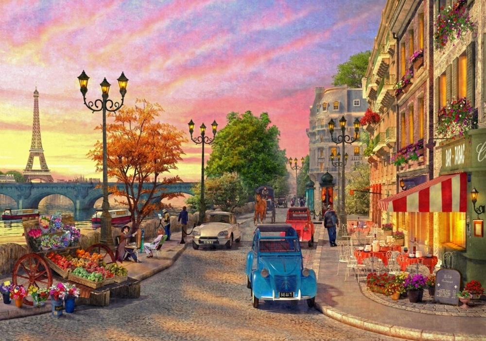 Пазл Ravensburger Вечер в Париже ravensburger тула мун эйфелева башня 12567