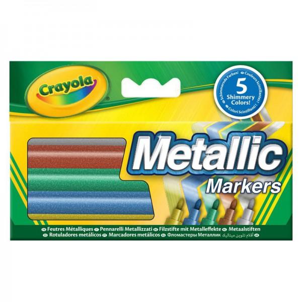 Фломастеры Crayola цвета металлик
