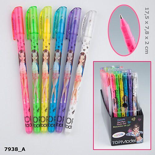 Цветные гелевые ручки TOP Model Neon 7938Цветные гелевые ручки TOP Model Neon 7938 - 6 цветов. Рекомендуем использовать данный набор для добавления ярких акцентов при создании неповторимых дизайнерских работ. Фантазируйте, импровизируйте, творите !Материал:    пластик, картон.<br>