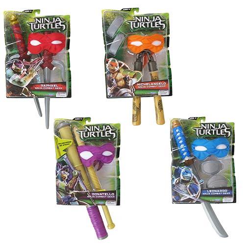 Боевое оружие в ассортименте, серия Movie LineПредставляем вашему вниманию игрушку для мальчиков Боевое оружие Черепашек Ниндзя<br>