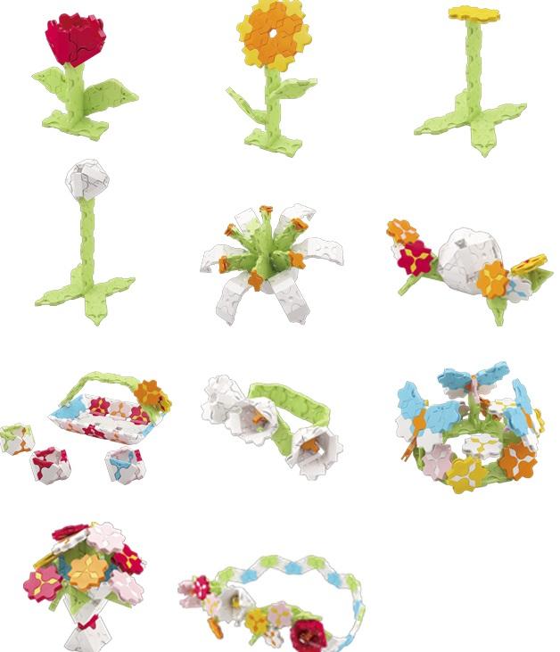 Конструктор Laq Sweet Collection FlowerКонструктор Flower представляет собой набор деталей из серии Sweet Collection. Эта серия идеально подходит для девочек - детали тёплых пастельных цветов, модели тематически подобраны для девочек. В комплект входит 260 деталей в 7 цветах и пошаговая инструкция для сборки цветов и аксессуаров, всего 11 моделей - подсолнуха, тюльпана, лилии, цветочного венка, корзиночки, бабочки и др. Детали всех конструкторов LaQ совместимы между собой, т.е. разные наборы великолепно дополняют друг друга и значительно расширяют количество моделей, которые можно собрать.<br>