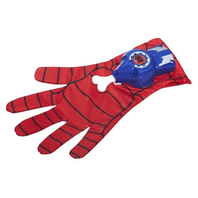 Перчатка Человека-Паука купить бластер для паутины человека паука
