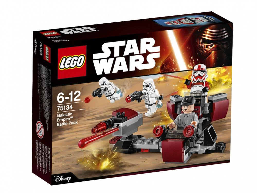 Конструктор Lego Star Wars 75134 Боевой набор Галактической Империи конструктор lego star wars боевой набор галактической империи 109 элементов 75134