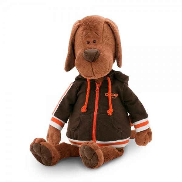 Пёс Барбоська в толстовке 30 в коробкеМягкая игрушка Пес Барбоська в толстовке от популярного бренда Orange - это очень милая и забавная игрушка, предназначенная для детей в возрасте от 3 лет. Мягкая и приятная текстура данной игрушки подарит ребенку много положительных эмоций и сделает ее неизменным спутником в детских играх и даже во время прогулки. Барбоська одет в симпатичную толстовку с капюшоном, которая дополняет его образ и делает очень стильным и модным.<br>