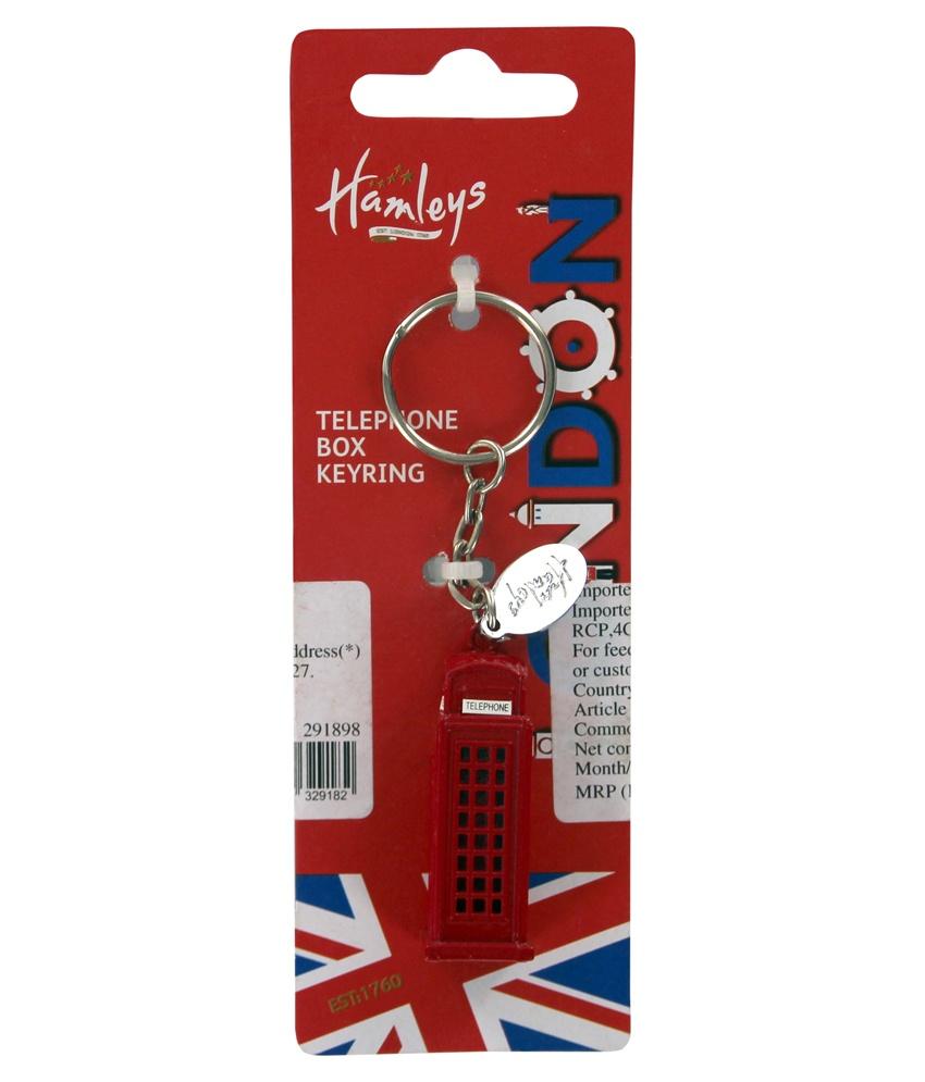 СУВЕНИРЫ брелок д/ключей телефонная будкаОригинальный брелок для ключей «Телефонная будка» от Hamleys - презент в виде английской телефонной будки с таксофоном, берущей свою историю с 1920 годов. Красная будка является традиционной деталью британского интерьера и ярким элементом, по которому мы всегда узнаем старую добрую Англию.Такой подарок никого не оставит равнодушным: он понравится и любителям географии, и маленьким коллекционерам брелоков, и взрослым путешественникам. Кроме того, брелок является стильным аксессуаром, который можно повесить не только на ключи, но и на сумку, пенал или косметичку. Изделие имеет небольшие и компактные размеры и упаковано в фирменную коробочку. Брелок изготовлен из прочного и надежного цинкового сплава.Телефонная будка с таксофоном представлена в Hamleys по выгодной цене. Вы можете заказать эту и другие брелоки и игрушки в интернет-магазине с доставкой на дом или в розничных точках продаж в Москве, Санкт-Петербурге и Московской области.<br>