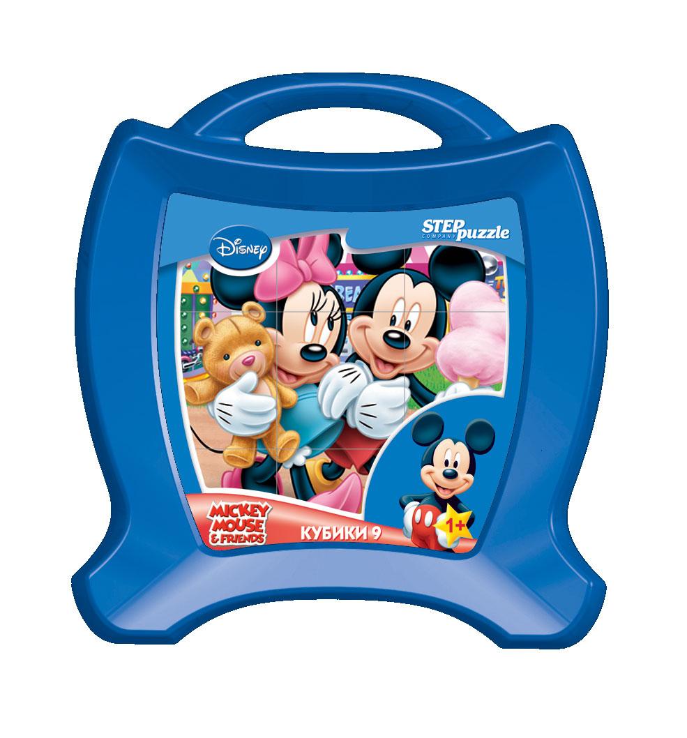 DISNEY 9 кубиков Микки Маус  (Disney)Кубики являются одной из самых популярных игрушек для самых маленьких.Яркие запоминающиеся образы любимых героев Disney создают положительный настрой во время игры и помогают справиться с задачей.Кубики из серии Disney рекомендованы для детей от 1 года.В наборе 9 кубиков из пластмассы в чемоданчике.В этой серии:9 кубиков Маша и Медведь9 кубиков Me to You9 кубиков Феи9 кубиков Animal Friends9 кубиков Самолёты9 кубиков Тачки 29 кубиков Принцессы9 кубиков Медвежонок Винни<br>