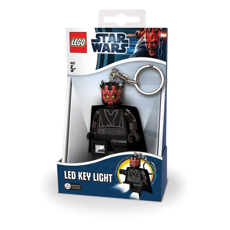 LGL-KE13 Брелок-фонарик для ключей LEGO Star Wars - Darth Maul (Дарт Мол) lgl ni2 фонарик lego movie unikitty на подставке