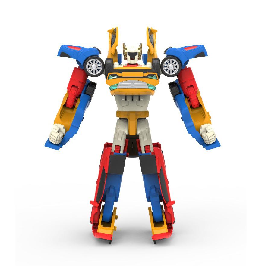 Робот-трансформер 3 в 1 Мини Тобот - ТританРобот-трансформер 3 в 1 Тритан из серии Мини Тобот от торговой марки Young Toys представляет собой интересную игрушку, которая сделает любую игру более захватывающей. Совершив всего несколько движений, смещая некоторые его части, можно превратить фантастического андроида в быстрый автомобиль. От выбранной последовательности производимых действий зависит цвет и дизайн второго облика робота. Таким образом, ребенок будет иметь несколько вариантов его трансформации, каждая из которых пригодиться в придуманной игре для различных ситуаций.<br>