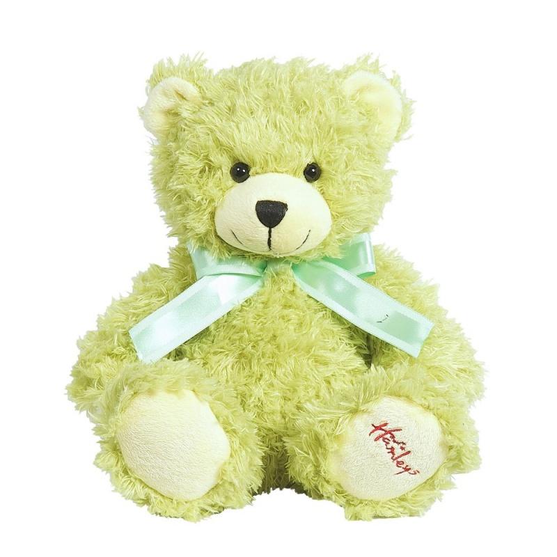 Купить Игрушка плюшевая Медведь , лаймовый, 25 см.