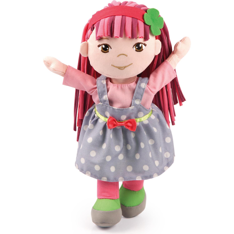 Тряпичная кукла 30смВсе мягкие друзья носят красочные платья с красивой лентой. Независимо от того, где вы хотите играть, дома или в путешествии, мягкие друзья всегда будут с тобой.<br>