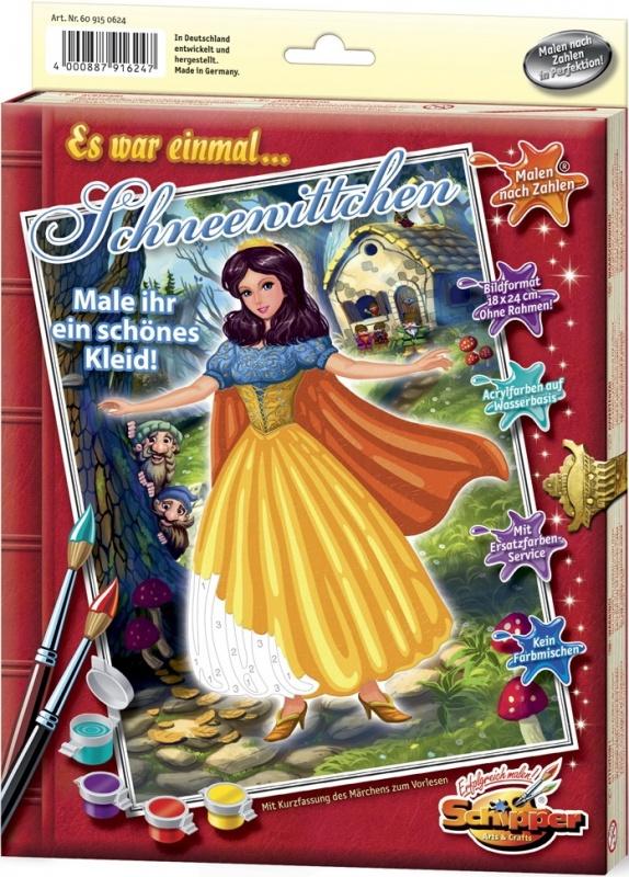 Раскраска Schipper БелоснежкаРаскраска «Белоснежка» от Schipper с изображением знаменитой принцессы станет прекрасным подарком для любого ребенка и подарит ему массу увлекательных часов рисования и положительных эмоций.Все необходимые краски входят в комплект с раскраской и сделаны они только из высококачественных нетоксичных материалов. Разукрашивая картинку, ваш малыш развивает воображение, творческие способности и логическое мышление.<br>