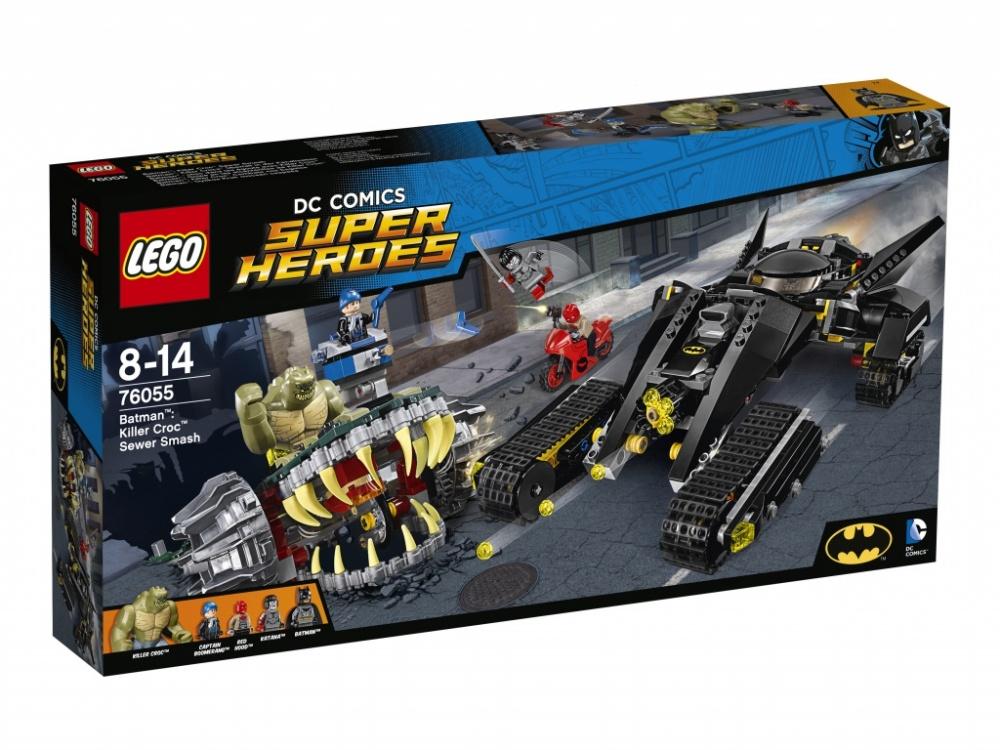 Конструктор Lego Super Heroes Бэтмен Убийца КрокЖизнь и безопасность жителей города под угрозой — Убийца Крок вновь решил заявить о себе с помощью кровавых преступлений. Чтобы защитить горожан, на дело отправляется команда Бетмена. Ваша помощь будет как нельзя кстати — сложите бронированный автомобиль и быстроходный Беттанк из 760 деталей и отправляйтесь на задание «Бэтмен против убийцы Крока», чтобы не дать преступнику реализовать свой коварный замысел.<br>