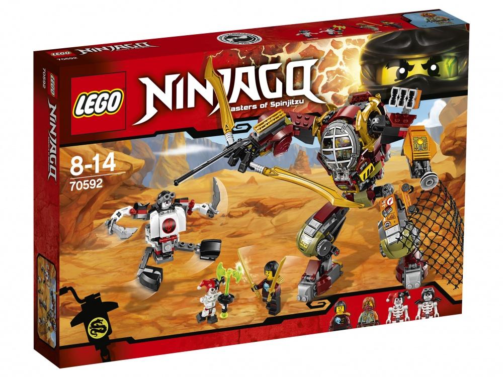 """Фото #1: Конструктор Lego Ninjago """"Робот-спасатель"""""""