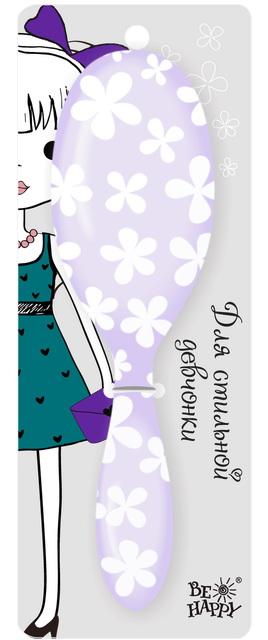 Расческа для волос подарочная (150-Кристина) 1 фиолетовыйИллюстрации представлены для ознакомления, на товаре надпись Кристина! Цвет - Фиолетовый!Стильная подарочная расчёска от Би-Хэппи с надписью Кристина станет отличным презентом. Она поможет выразить ваши чувства ярче, это не простой подарок, поскольку несёт с собой эмоции. Не забывайте, жизнь состоит из мелочей и счастливые моменты – неотъемлемая его часть. Пусть в жизни ваших близких будет больше таких моментов!<br>