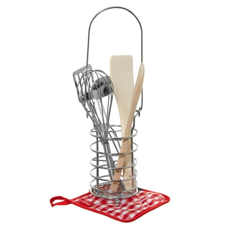 Набор Hamleys Кухонные Принадлежности С ПодставкойЭтот сказочный детский набор кухонной гарнитуры станет идеальным подарком для ваших детей.<br>