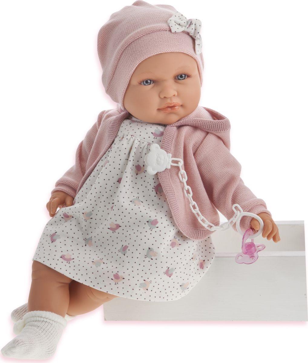 """Купить со скидкой Juan Antonio Кукла """"Роза"""" цвет одежды розовый"""