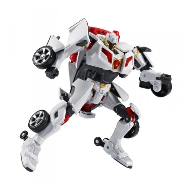 Трансформер ТОБОТ эволюция Y со звуком и светомТрансформер Тобот эволюция Y со звуком и светом создан для любителей мультсериала Tobot и для любителей роботов-трансформеров. Перед вами более развитая форма Тобота Y, представляющая собой серо-красного защитника со звуковым модулем.Играя с роботами, мальчишки осваивают сюжетные игры, развивая воображение и фантазию.Все детали игрушки надежно соединены друг с другом, поэтому трансформацию можно производить множество раз подряд.Дети с удовольствием дополнят робота или машинку красочными наклейками из комплекта, придавая им яркость и неповторимый стиль.Ребёнок может также использовать токен-ключ для активации робота, подражая близнецам-пилотам.Самая же главная «фишка» Тобота «Эволюция Y» - его звуковой модуль. Присоедините аксессуар к игрушке, включите, и робот заговорит знакомыми фразами, а его визор будет светиться в такт словам. Заведи, активируй, трансформируй. Тобот Y, включи щит!В набор входит: трансформер, модуль со звуком, токен-ключ, наклейки, инструкция.Упаковка: картонная коробка.<br>