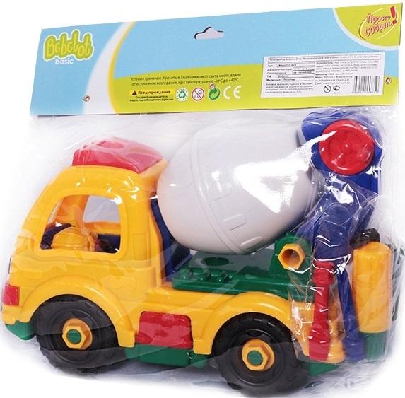 Конструктор Bebelot Basic Бетономешалка игрушка для активного отдыха bebelot захват beb1106 045