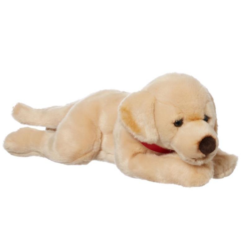 Игрушка плюшевая Hamleys Золотой лабрадор лежащий 2см