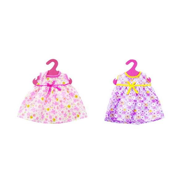 Купить Одежда для кукол платье, 2 вида в ассортименте, 23x30x1см
