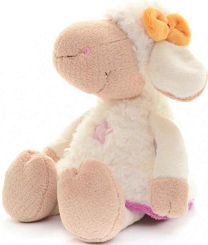 Овечка Эми Nici сидячая, 15см мягкая игрушка овечка эми 35 см nici 36330