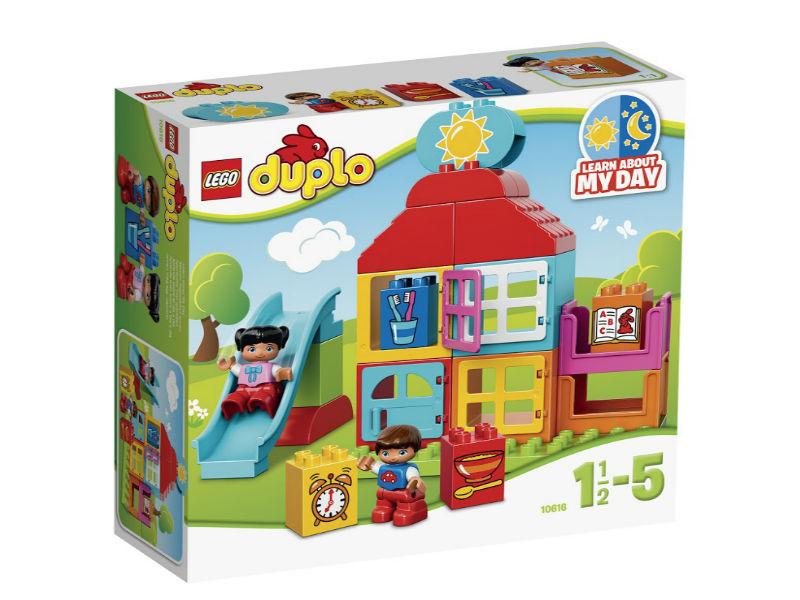 Конструктор Lego Duplo 10616 Мой первый игровой домик lego конструктор lego duplo мой первый игровой домик 10616