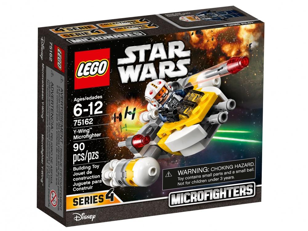 Конструктор Lego Star Wars Микроистребитель типа YСражайся с силами Империи на удивительном микроистребителе типа Y. Посади пилота в кабину микроистребителя, снаряди пусковые установки маневренными ракетами и готовься вступить в бой.<br>