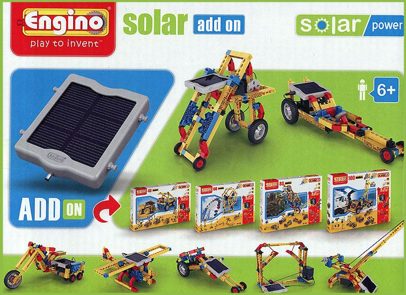 Конструктор: Дополнительная солнечная батарея, серия SOLAR POWER Конструкторы