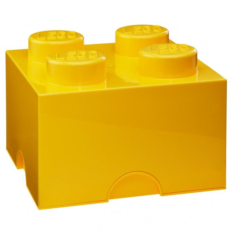 Система хранения Lego 4 желтыйПредставляем вашему вниманию отличную систему хранения. Она сделана в виде детали конструктора. Оригинальный дизайн, яркий цвет, качественный материал - всё это понравится вашему ребенку, и пользоваться им он будет с удовольствием. В таком ящике с крушкой можно хранить как игрушки, конструкторы, так и, например, книги.<br>