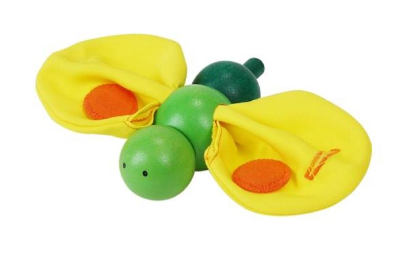Развивающая игрушка Бабочка Plan ToysРазвивающая игрушка  Бабочка Plan Toys предназначена для самых маленьких. Она стимулирует познавательную активность, развивает мелкую моторику, вызывает у деток положительные эмоции.Игрушка совершенно безопасна – не содержит аллергенов, вредных красителей и материалов. Игрушку можно мыть без ущерба для ее внешнего вида.Развивающая игрушка  Бабочка Plan Toys станет обязательной участницей всех игр ребенка.<br>